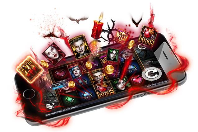 Spelautomat på mobil